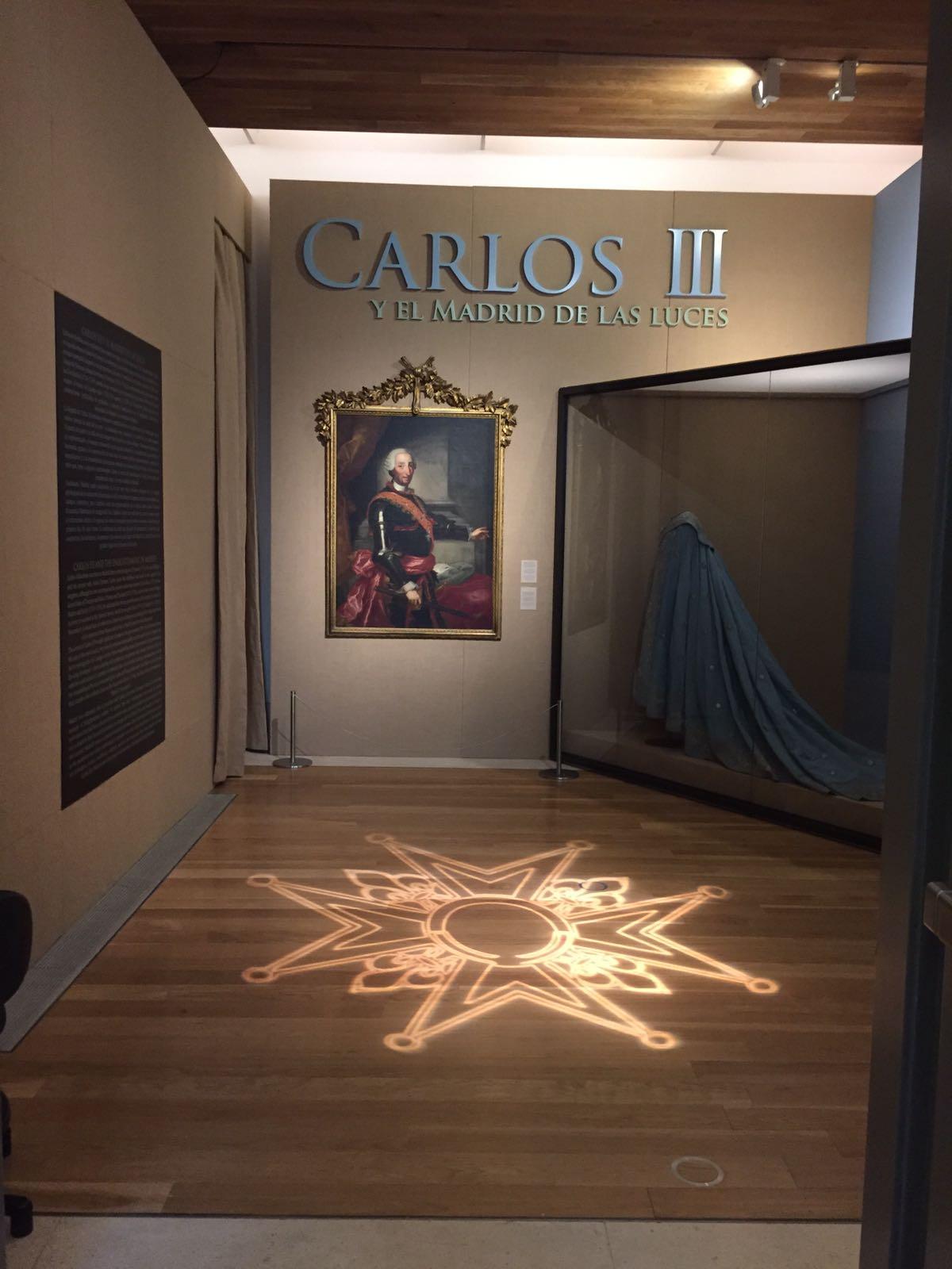 Impresión gráfica expositiva exposición Carlos III