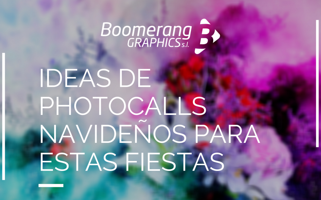Ideas de photocalls navideños para estas fiestas