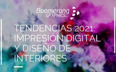 Tendencias 2021: aplicaciones con impresión digital para la decoración de interiores